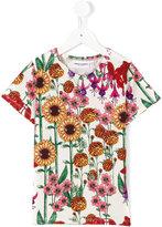 Mini Rodini Garden T-shirt - kids - Organic Cotton/Spandex/Elastane - 5 yrs
