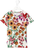 Mini Rodini Garden T-shirt - kids - Organic Cotton/Spandex/Elastane - 7 yrs