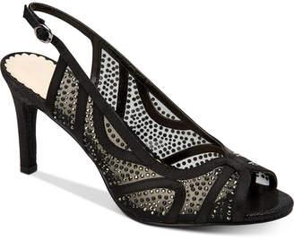 Charter Club Women Lexiaa Mesh Evening Heels, Women Shoes