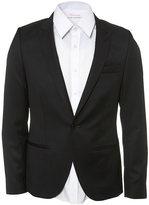 Premium Black Pure Wool Skinny