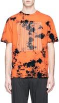 Alexander Wang Barcode logo print tie dye T-shirt