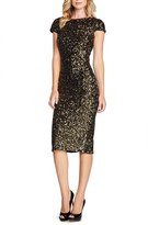 Dress the Population Women's 'Marcella' Open Back Sequin Body-Con Dress