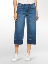 Calvin Klein Boyfriend Fit Medium Wash Denim Culottes