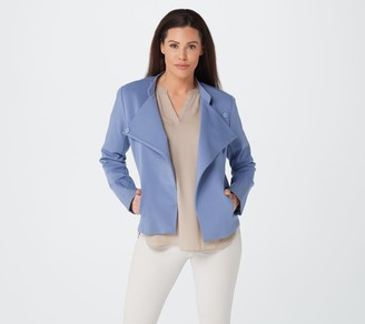 Elizabeth & Clarke Knit Military Jacket with StainTech