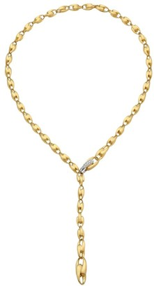 Marco Bicego Lucia 18K Yellow Gold & Diamond Lariat Necklace