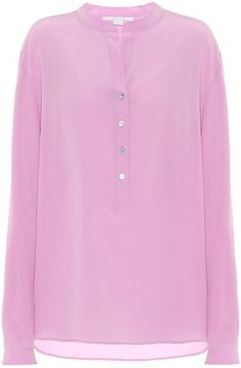 Stella McCartney Silk-crepe blouse