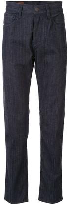 Giorgio Armani High-Rise Straight-Leg Jeans