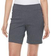 Dana Buchman Women's 8-in. Pull-On Dress Shorts