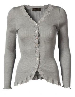 Rosemunde Vintage Lace Cardigan Light Grey - S