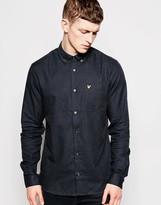 Lyle & Scott Shirt In Marl Cotton