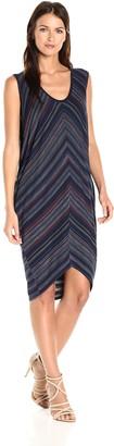 BCBGMAXAZRIA Azria Women's Kerstin Zig Zag Knit Cocoon Dress
