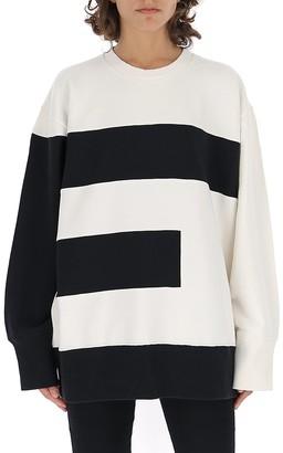 MM6 MAISON MARGIELA E Letter Print Sweatshirt