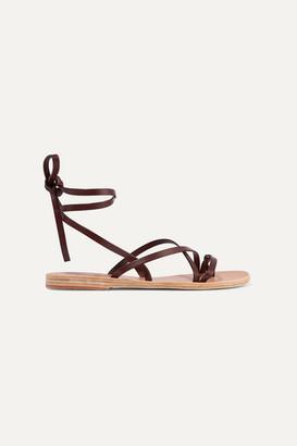 Ancient Greek Sandals Morfi Leather Sandals - Brown