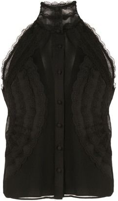 Alexis Shadi lace panel top