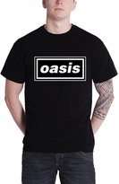 Oasis T Shirt Band Logo Definitely Maybe Album Official Mens New
