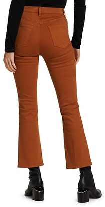 J Brand Lillie High-Rise Crop Flare Jeans