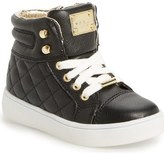 MICHAEL Michael Kors 'Ivy Cora' Quilted High Top Sneaker (Walker, Toddler, Little Kid & Big Kid)