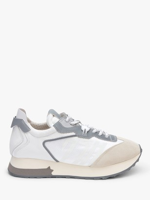 Ash Tiger Chunky Sole Trainers, White