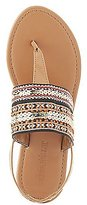Charlotte Russe Embellished Embroidered Sandals