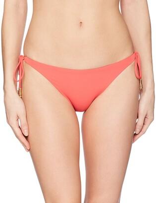 Vix Women's Watermelon Shaye Long Tie Brazilian Bottom Medium