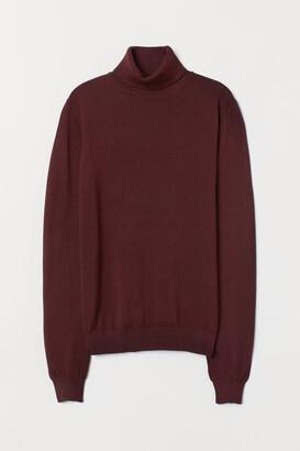 H&M Fine-knit Turtleneck Sweater