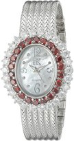 Adee Kaye Women's AK2423-TZ GLAM COLLECTION Analog Display Analog Quartz Watch