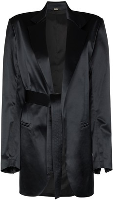 Dodo Bar Or Coco tie-fastening waist blazer