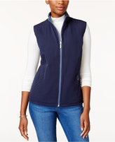 Karen Scott Reversible Active Vest, Created for Macy's