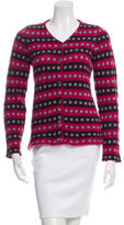 Marni Wool & Cashmere-Blend Patterned Cardigan