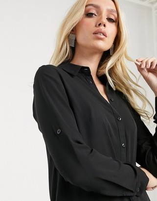 Lipsy simple shirt in black
