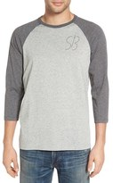 Nike Men's Sb Logo Dri-Fit Raglan T-Shirt