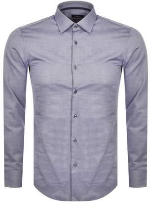 HUGO BOSS Boss Business Long Sleeved Jesse Shirt Navy