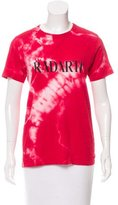 Rodarte Graphic Print Short Sleeve T-Shirt