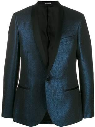 Lanvin metallic-effect blazer jacket