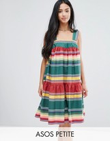 Asos Smock Sundress in Summer Stripe