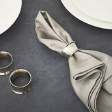 Crate & Barrel Emerson Napkin Ring
