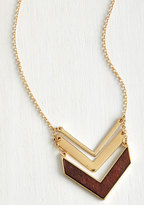 Terrace at my Heartstrings Necklace in Wood