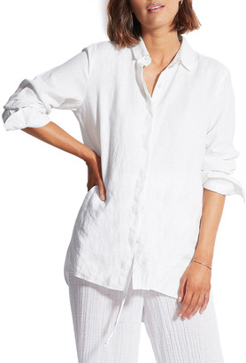 Seafolly Essential Beach Linen Shirt