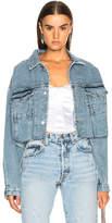 Palmer Girls x Miss Sixty Vintage Cropped Denim Jacket