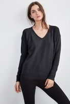 Emerson Contrast Knit Cashmere Sweater