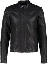 Jack & Jones Jororiginal Faux Leather Jacket Black