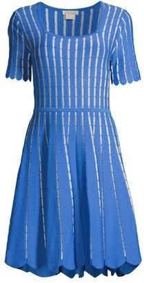 Shoshanna Textured Knit Mini Dress