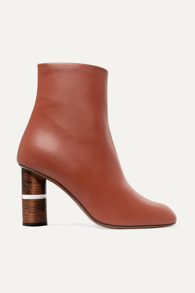 Neous Clowesia Leather Ankle Boots - Tan
