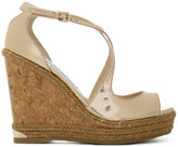 Jimmy Choo Dakota wedge sandals