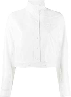 Courreges Logo Chest Jacket