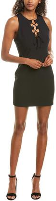 Cinq à Sept Irene Silk-Trim Sheath Dress