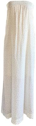 Swildens Ecru Cotton Dress for Women
