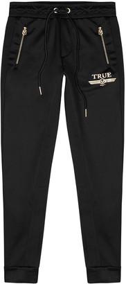 True Religion Black Jersey Sweatpants