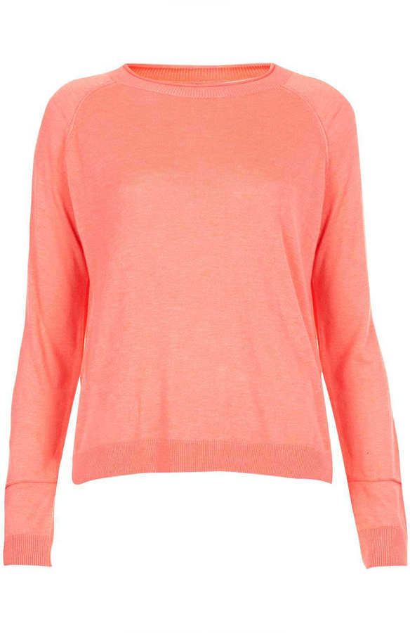 Topshop Tall Knitted Fine Gauge Top