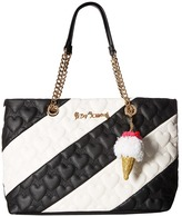 Betsey Johnson Split Decision Tote